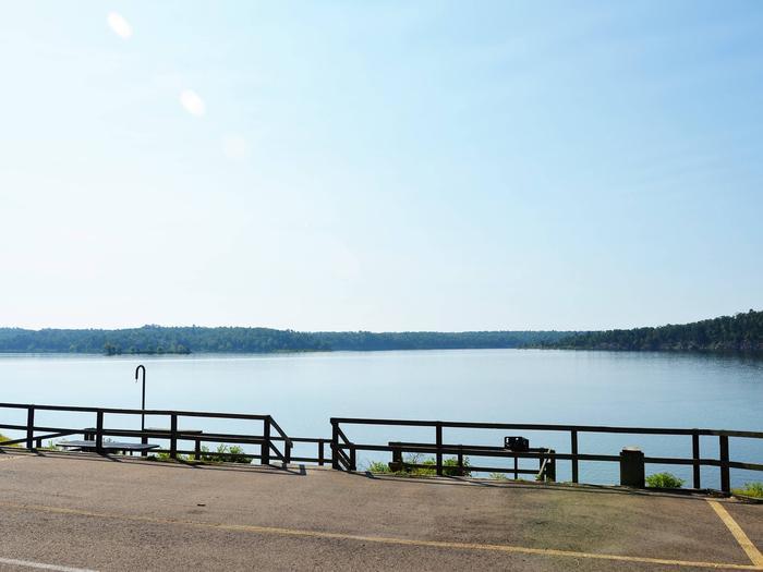 De Queen Lake Bellah Mine Park Campsite # 7Campsite #7