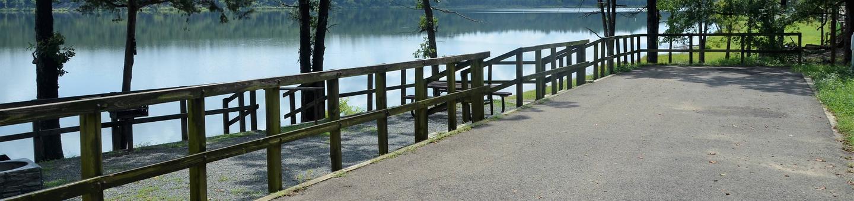 De Queen Lake Bellah Mine Park Campsite # 10Campsite #10