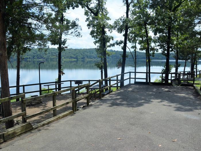 De Queen Lake Bellah Mine Park Campsite # 11Campsite #11