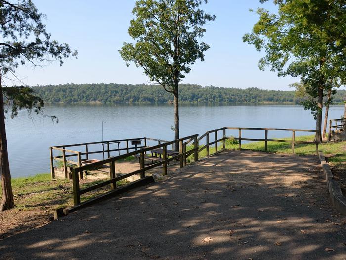 De Queen Lake Bellah Mine Park Campsite # 12Campsite #12
