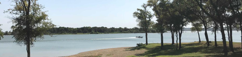 View of Waco Lake