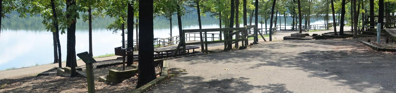 De Queen Lake Bellah Mine Park Campsite # 14Campsite #14