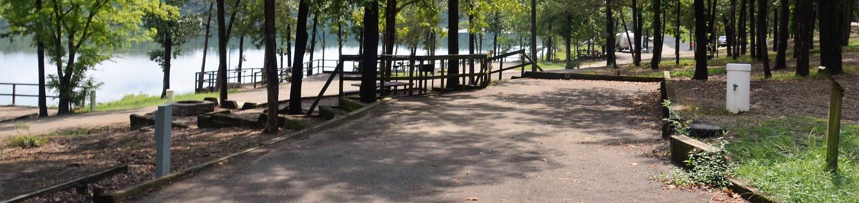 De Queen Lake Bellah Mine Park Campsite # 15Campsite #15