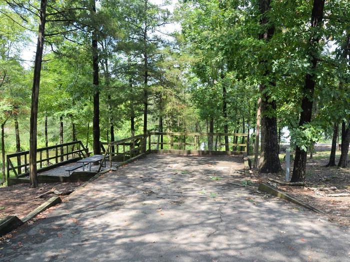 De Queen Lake Bellah Mine Park Campsite # 16Campsite #16