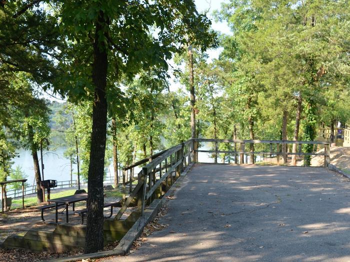 De Queen Lake Bellah Mine Park Campsite # 19Campsite #19
