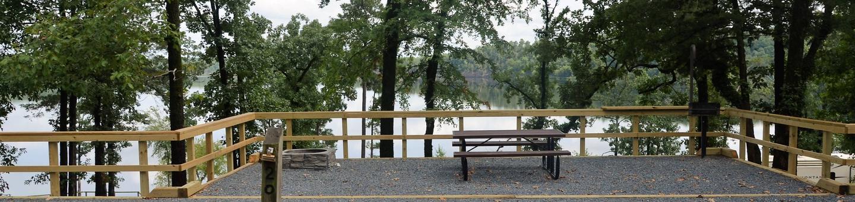 De Queen Lake Bellah Mine Park Campsite # 20Campsite #20