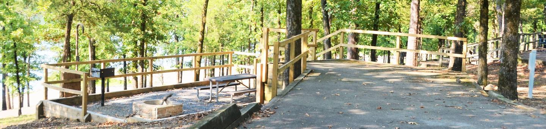 De Queen Lake Bellah Mine Park Campsite # 21Campsite #21