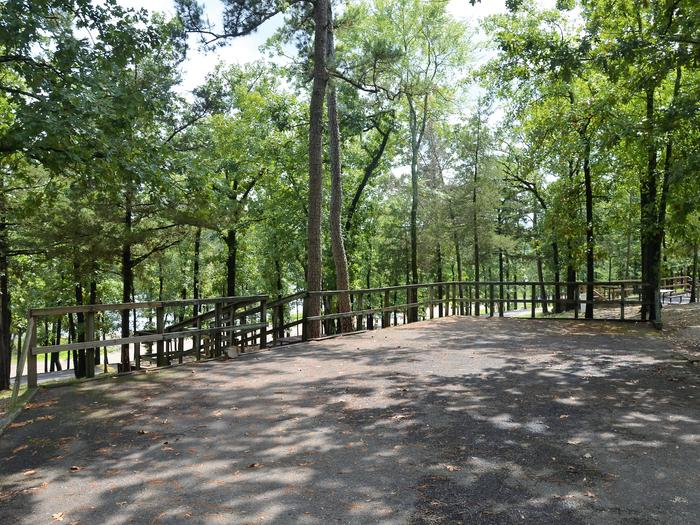 De Queen Lake Bellah Mine Park Campsite # 22Campsite #22
