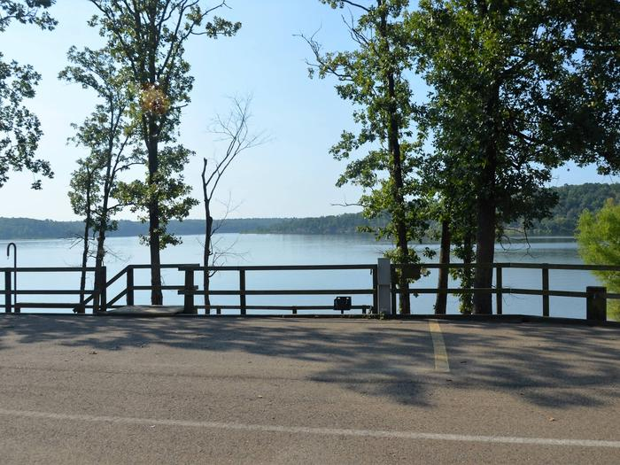 De Queen Lake Bellah Mine Park Campsite # 3Campsite #3