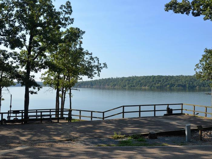 De Queen Lake Bellah Mine Park Campsite # 9Campsite #9