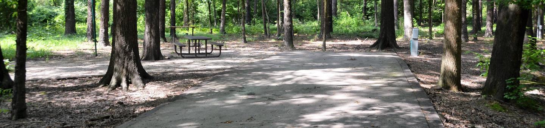 Gillham Lake Little Coon Creek Park Campsite # 4Campsite #4