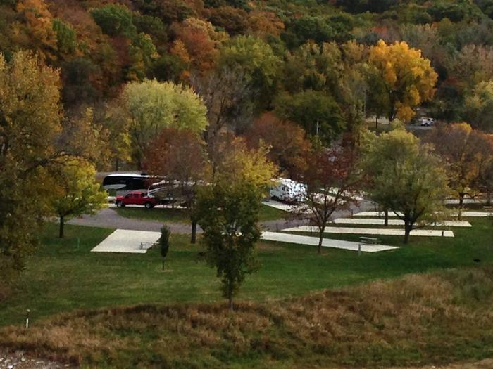 Tailwater West Campground Fall