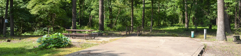 Gillham Lake Little Coon Creek Park Campsite # 5Campsite #5