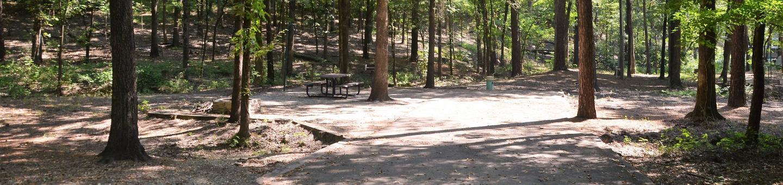 Gillham Lake Little Coon Creek Park Campsite # 10Campsite #10