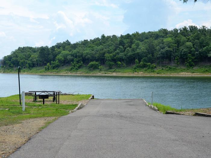 Gillham Lake, Big Coon Creek Campsite # 08Campsite #08