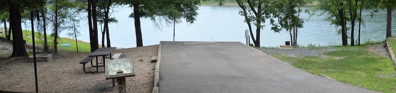 Gillham Lake, Big Coon Creek Campsite # 12Campsite #12