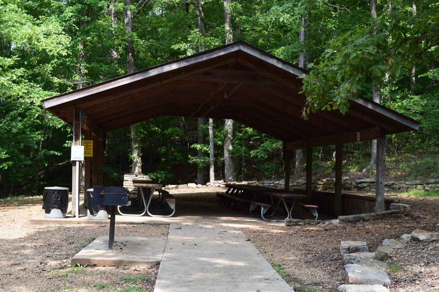 FLOAT CAMP PICNIC AREAPavilion available for reservation