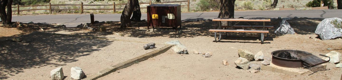Site #23, Pinon Flats Campground