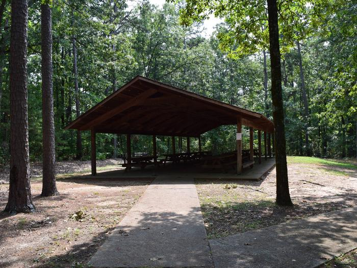 PINEWOODS LAKE RECREATION AREA PAVILIONPavilion available for reservation