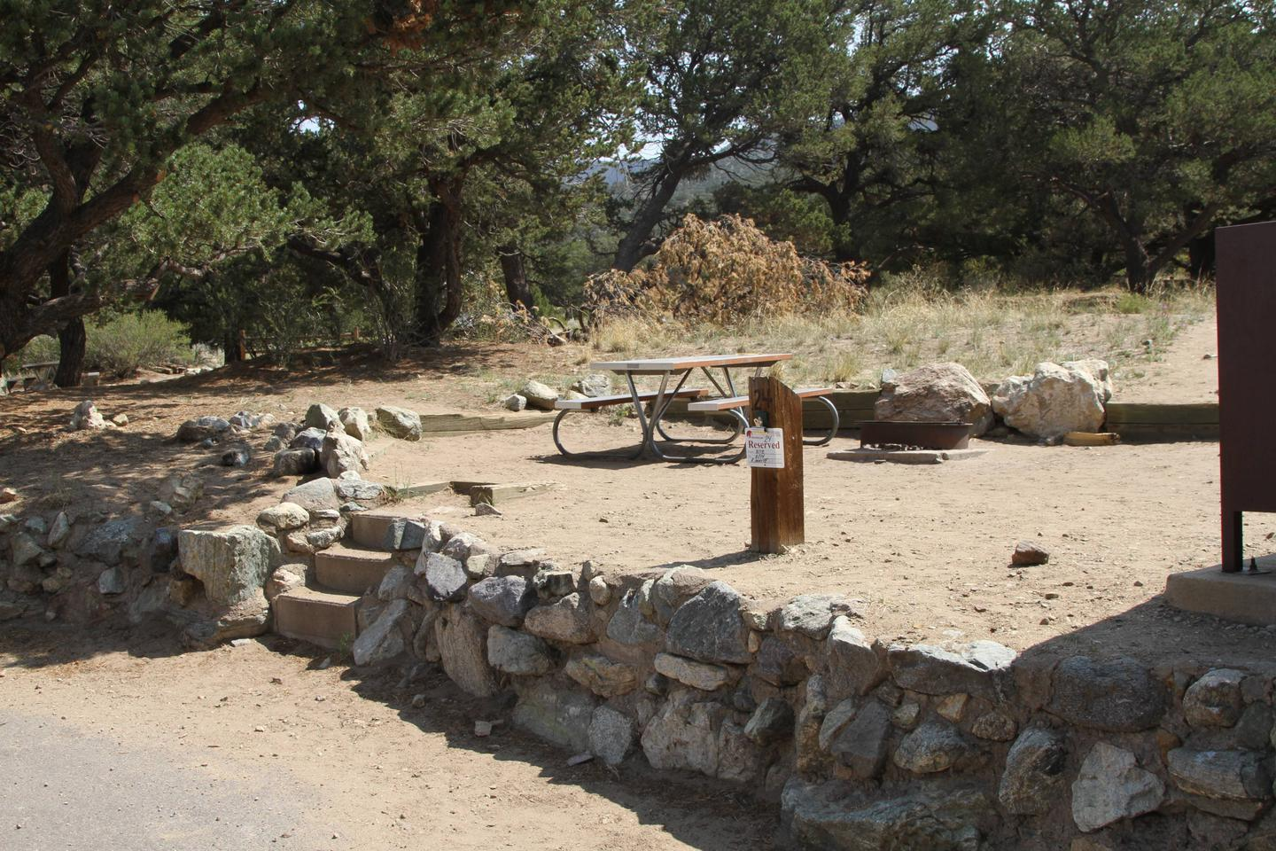 Site #24, Pinon Flats Campground