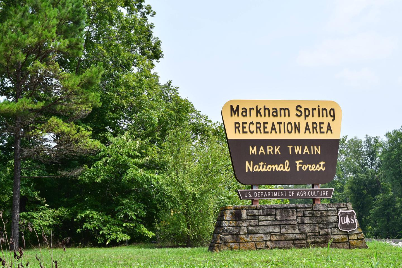 MARKHAM SPRINGSEntrance to Markham Springs