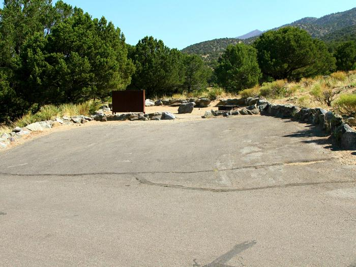 Site #62, Pinon Flats Campground