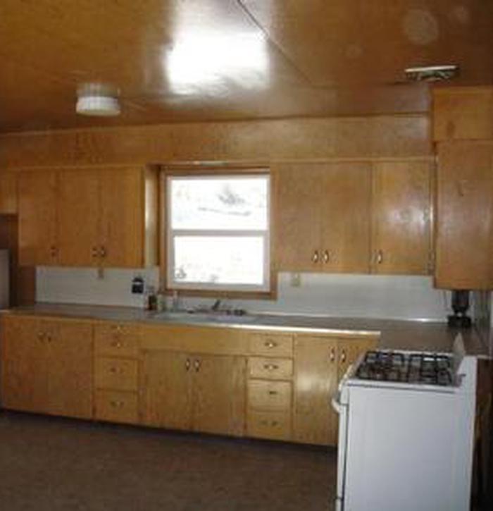 Orange Olsen Dwelling Kitchen