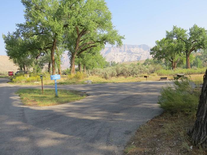 ADA Site 41Pull-through parking area