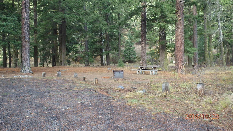 Halfway Flat CampgroundCampsite