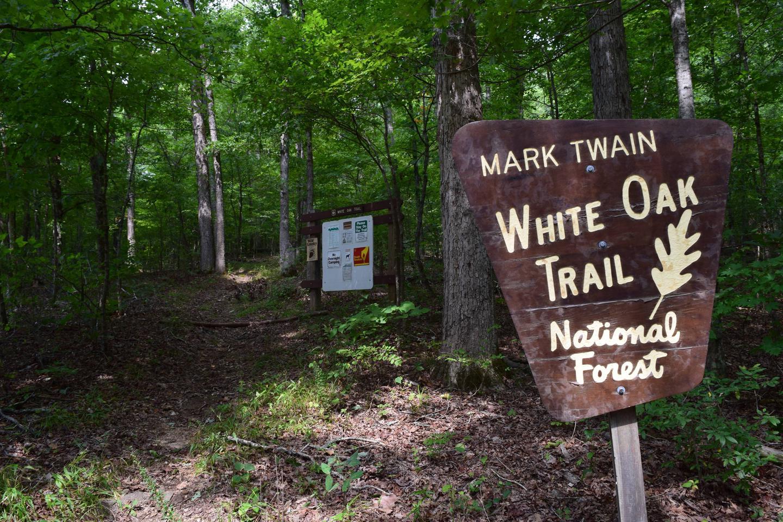 White Oak Trail at Float Camp Picnic Area