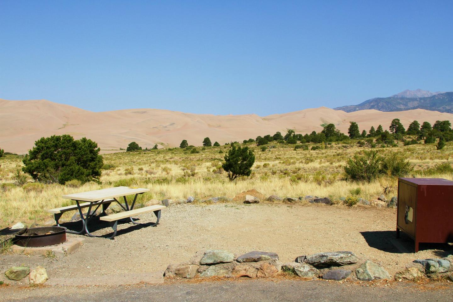 Site #69, Pinon Flats Campground