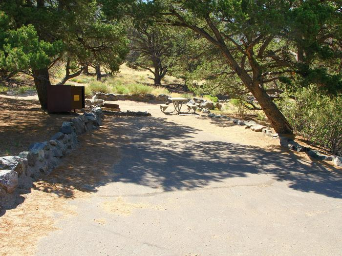 Site #70, Pinon Flats Campground