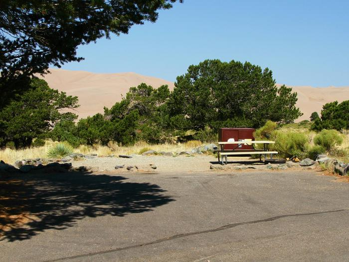 Site #71, Pinon Flats Campground
