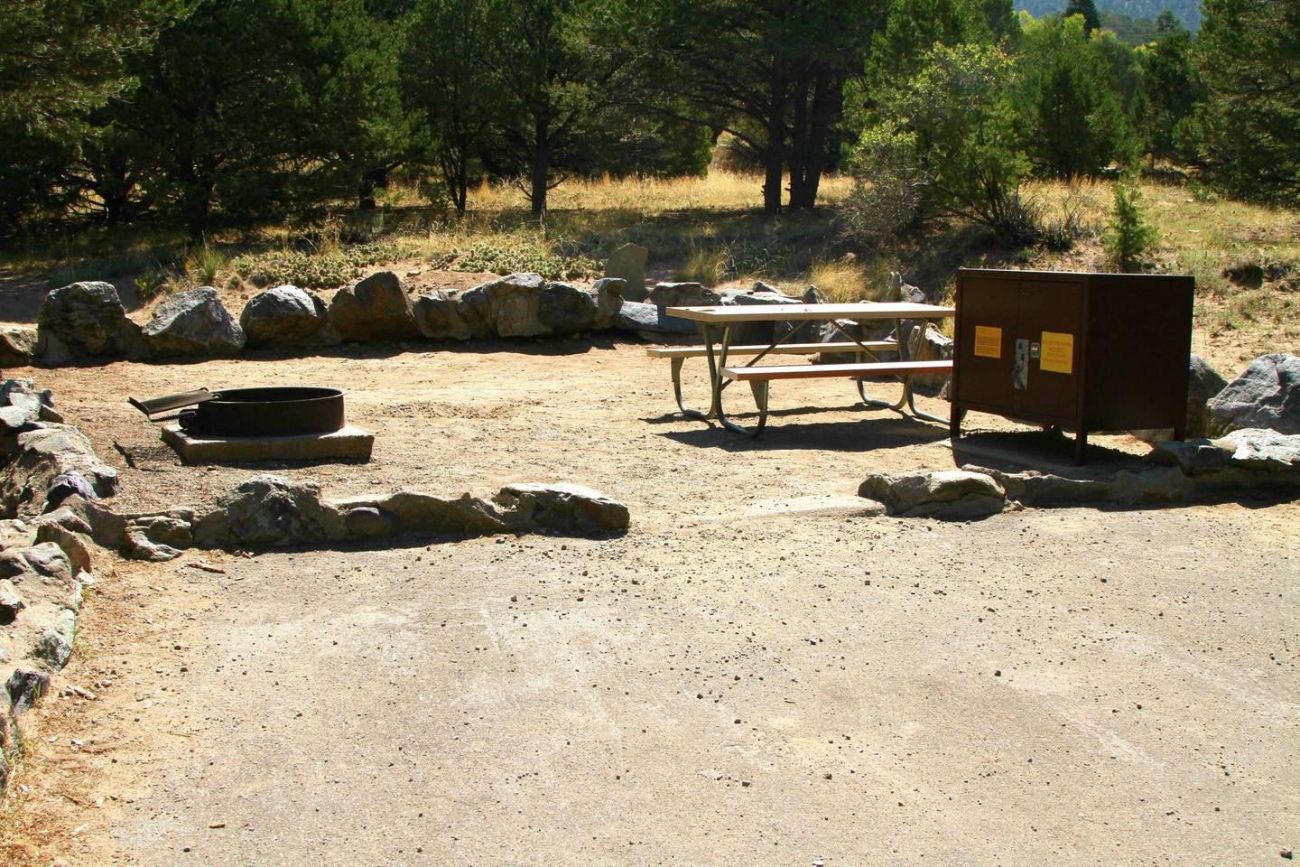 Site #75, Pinon Flats Campground