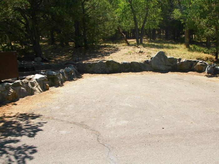 Site #79, Pinon Flats Campground