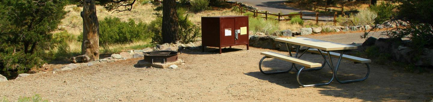 Site #74, Pinon Flats Campground