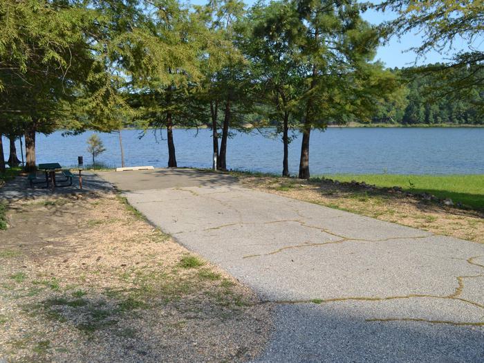 Jefferson Ridge Site 27Campsite 27