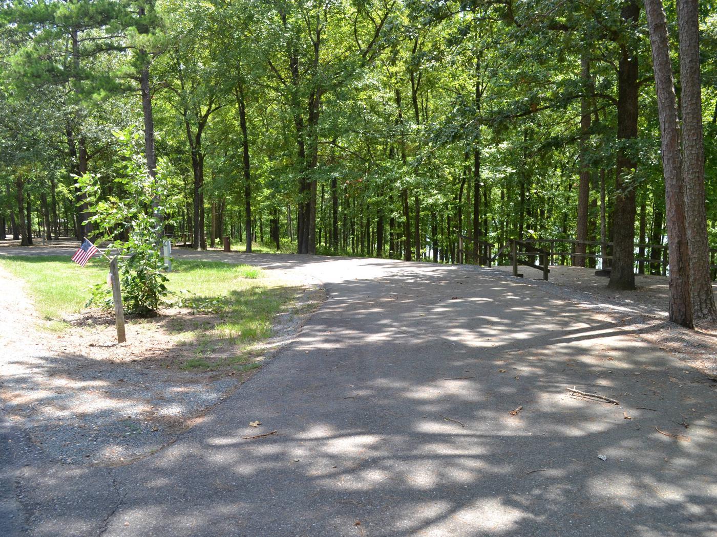 Jefferson Ridge Site 63Campsite 63