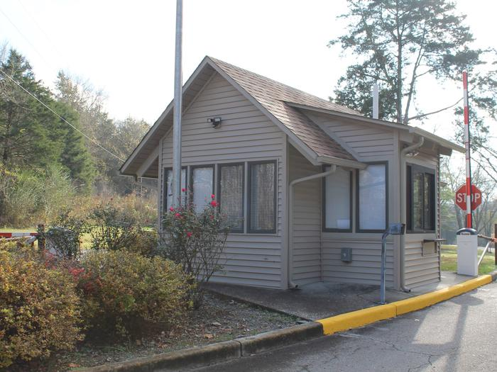 Salt Lick Creek Park Attendant Booth