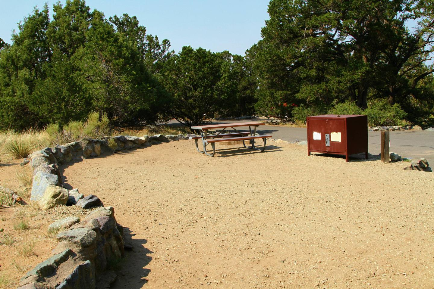 Site #77, Pinon Flats Campground