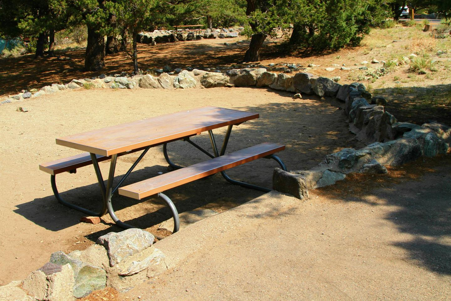 Site #81, Pinon Flats Campground