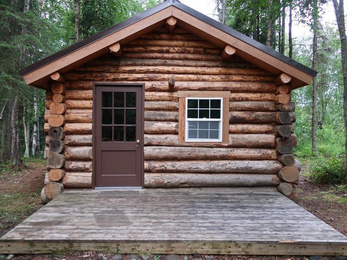 Big Indian cabin.