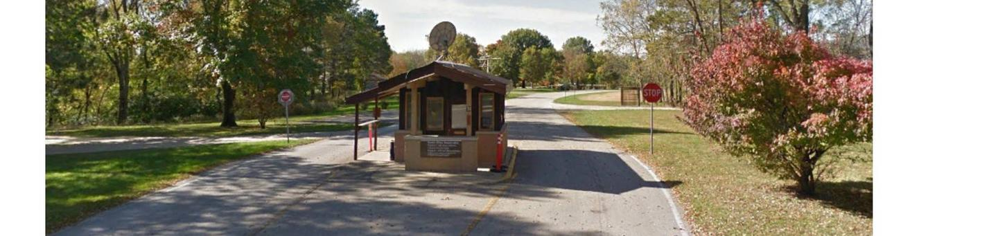 Campground Fee Booth