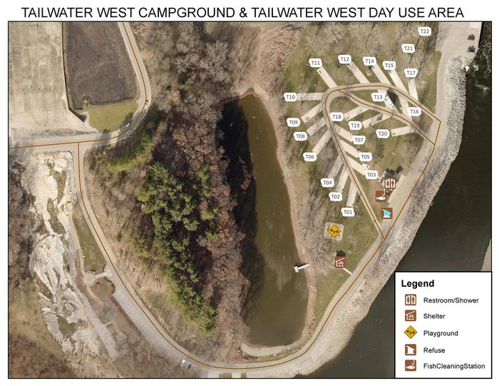 Tailwater West Day Use Area