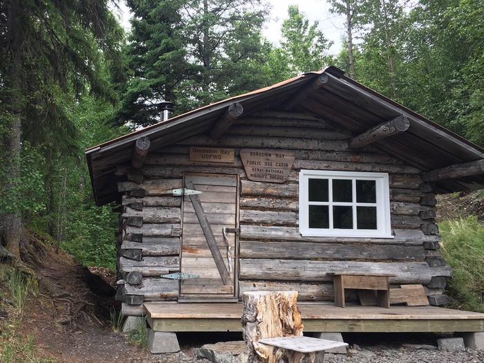 Doroshin Bay cabin.Doroshing Bay cabin.