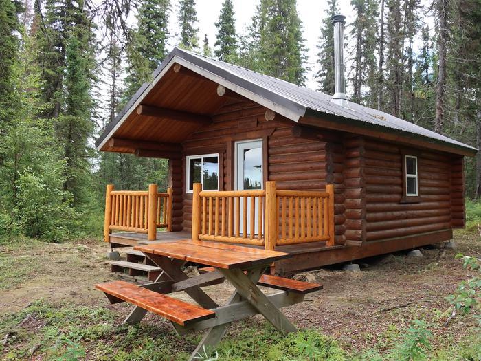 McLain Lake cabin.McLain Lake cabin.