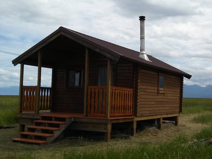 Pincher Creek cabin.