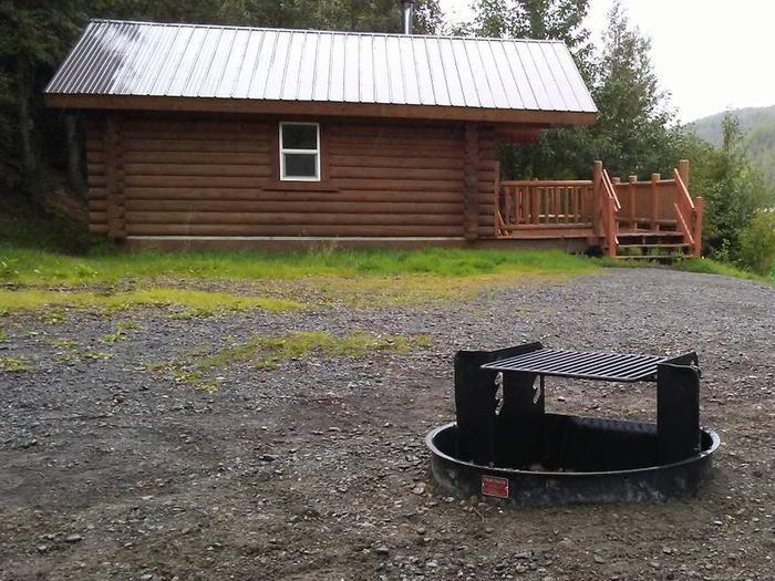 Upper Ohmer cabin.Upper Ohmer cabin.