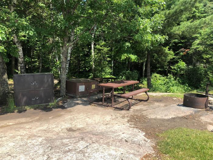 K1View of campsite core area
