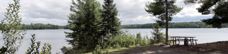K7 - Eagle ViewK7 Eagle View campsite on Kabetogama Lake